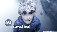 In the movie, it kind of looked like he just threw her to the side... but he still saved her :)
