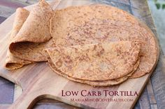 Gluten Free Tortillas, low carb tortillas, paleo tortillas, Atkin's tortillas, ketogenic tortillas