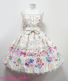 Angelic Pretty Fantasy Theater jsk in Ivory or blue
