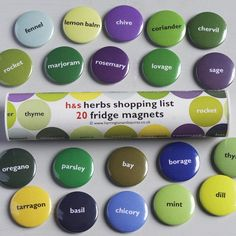 Herb Magnets