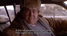 The great John Candy as Uncle Buck