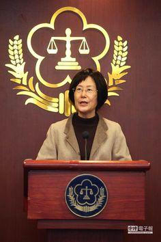 綠島監獄典獄長蘇清俊收賄弊案,法務部長羅瑩雪表示非常痛心。(林后駿攝)