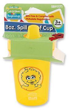 Sesame Street 8 Oz Spill Proof Cup