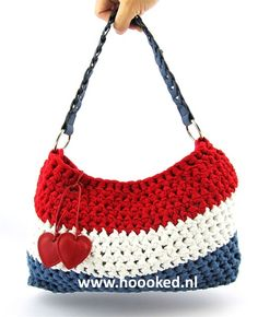 Crochet Kit Hoooked Dutchie bag RibbonXL | Hoooked