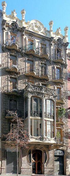 Barcelona - Enric Granados (Catalonia) - Modernisme
