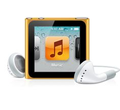 iPod nano is great for my iTunes podcasts that I listen to.  Also audiobooks and music.  Clips right to my shirt so I don't loose it!