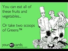 Take your greens!