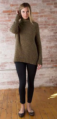 Smithfield pullover by Amy Christoffers -- free pattern Sweater Knitting Patterns, Knit Patterns, Free Knitting, Knit Sweaters, Knitting Magazine, Knit Or Crochet, Crochet Clothes, Pulls, Knitting Projects