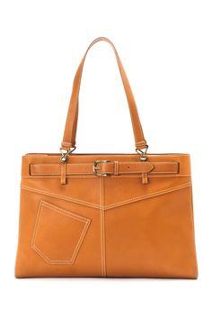 Vintage Dior Leather Shoulder Bag