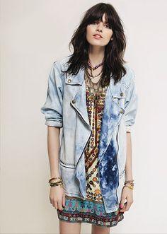 Pictures : Rapsodia Summer 2013 Lookbook - Rapsodia Oversized Denim Jacket
