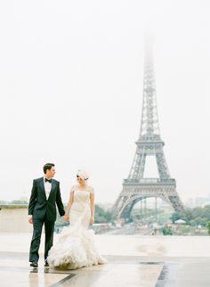 Paris Destination Wedding at Hotel Crillon Part II  Read more - http://www.stylemepretty.com/2014/01/16/paris-destination-wedding-at-hotel-crillon-part-ii/