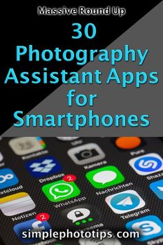 This blog post from Simple Photo Tips, is a massive round up of Smartphone based photography assistant apps. These helpers and utilities can make life easier for photographers on the go. Follow this link to learn more. #phototips #cameratips #photographyinfo #photographytutorial #simplephototips #photography101 #howtousecamera #photographyforbeginners #DLSRcamera Photography Tips For Beginners, Photography Lessons, Phone Photography, Photography Business, Photography Tutorials, Photography Basics, Digital Photography, Light Pollution Map, Exposure Calculator