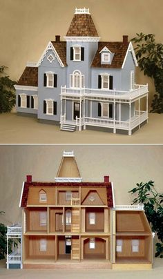 Woodstock Dollhouse Kit by Real Good Toys