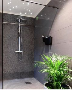 Are you in need of Walk In Shower Ideas? You need to make sure you know what you're looking for. Wet Room Shower, Shower Time, Walk In Shower, Deco Addict, Dere, Shower Systems, Wet Rooms, Midcentury Modern, Bathtub