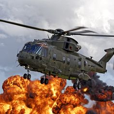 AgustaWestland Merlin HC3 Helicopter