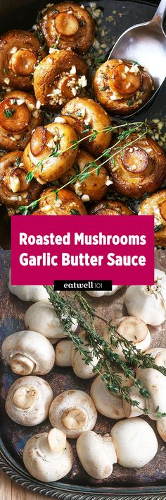 Roasted Mushrooms-An essential side dish to have in your recipe repertoire, especially when the Holidays season is coming.