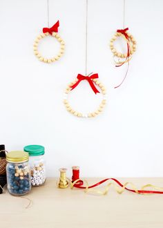 Beaded Wreaths