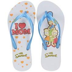 Centauro.com.br - Chinelo The Simpsons I Love Mom - Feminino