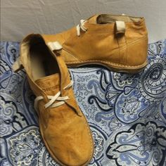 Diesel 70's Style Desert Boots These Chukka boots are comfortable and great for walking around, The leather is very soft and light weight. Diesel Shoes Ankle Boots & Booties