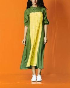 Shop from Indian Fashion Designer Cray Cuts Long Kurti Patterns, Indian Fashion Designers, Kurta Designs Women, Plain Dress, Fashion 2020, Designer Dresses, Boho Fashion, Casual Dresses, Collection