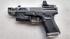 TFB is in attendance at TriggrCon 2019 and at the Range Day portion we saw some intriguing components from Killer Innovations with a NEW Glock Slide as well as some of their barrels and compensators. Custom Glock, Custom Guns, Tactical Pistol, Tactical Gear, Weapons Guns, Guns And Ammo, Airsoft, Iron Sights, Hunting Guns