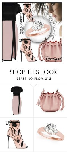 """ROSEGAL CONTEST- Bodycon dress"" by aida-ida ❤ liked on Polyvore featuring Jil Sander and Giuseppe Zanotti"