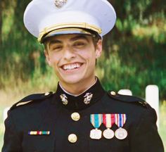 Dave Franco as Sully in Charlie StCloud in his Marines uniform