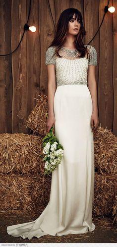 Jenny Packham Spring 2017 Collection: Bridal Fashion We… na Stylowi.pl