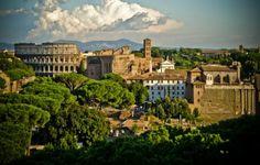 Beautiful Scenery in Rome