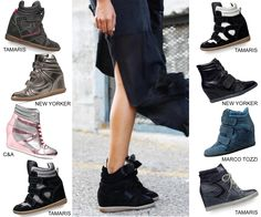 Shoes Isabel Marant, Tamaris, Marco Tozzi, C