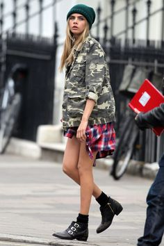 Cara Delevingne Style  Fashion – Miss Vogue Cover Girl (Vogue.com UK)