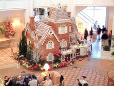 Visit the Grand Floridian and eat gingerbread.  I mean, I am going to take a bite of the house.  Fo realz.