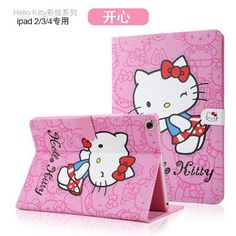 Case with hello kitty illustrations Ipad Air, Hello Kitty, Snoopy, Illustrations, Mini, Cover, Fictional Characters, Illustration, Fantasy Characters