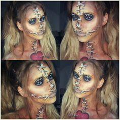 Lots of inspiration, diy & makeup tutorials and all accessories you need to create your own DIY Voodoo Doll Costume for Halloween.