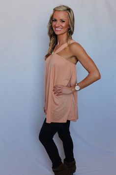 You're Making me Blush Tank - Peace Love and Royalty Boutique