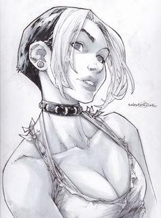 Roxy by Talent Caldwell Comic Art