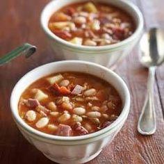 Een 10 scorende maaltijdsoep: Spaanse witte bonen soep met k