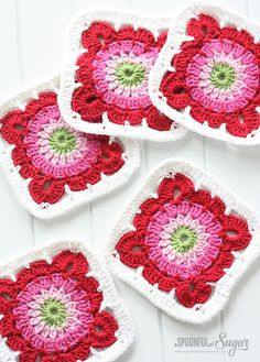 Crochet Rugs - A Spoonful of Sugar