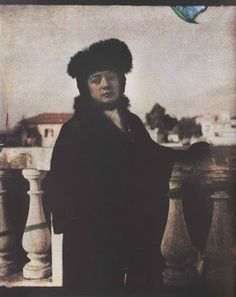 Le curieux Monsieur Cocosse | Journal: Leonid Andreyev |  Leonid's wife, Anna Andreyeva, Rome, 1914 Photographs by a Russian Writer (1903 -1914)