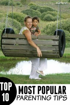 building Porch Swing set Plans for kids, Outdoor Furniture Plans and Projects(Like the tire swing.) 10 Most Popular Parenting TipsParenting doesn& have to be extremely hard. Learn some parenting tips in this roundup of 10 most popular parenting posts Tire Craft, Tire Furniture, Furniture Plans, Modern Furniture, Furniture Design, Outdoor Furniture, Diy Swing, Porch Swing, Tire Swings