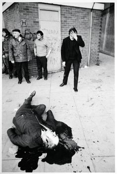 13 unarmed civilians shot dead by British Army in Derry on Bloody Sunday January 30th 1972 [500x744]