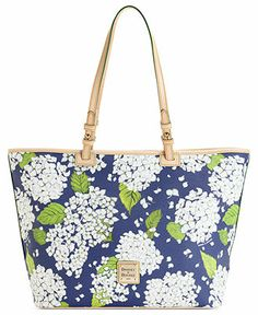 Dooney & Bourke Handbag, Flower Leisure Shopper - Dooney & Bourke - Handbags & Accessories - Macy's