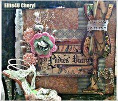 Graphic 45 A Ladies' Diary Paperbag Album & Ornament