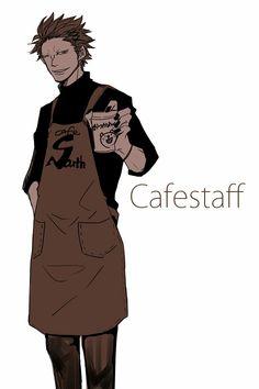 Eustass Kid Cafestaff ver.