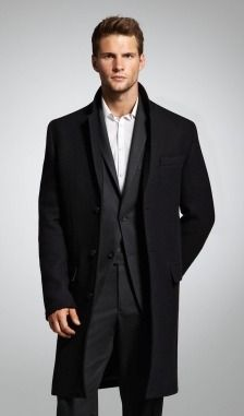 Car Coat with Sweater Trim #holidaystyle