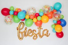 Fiesta Balloon Garland Kit – Bachelorette Ballon Garland – Taco Twosday Balloon Garland – Graduation Party Decor – Fiesta Party Supplies - Home Page Party Kulissen, Fiesta Theme Party, Fiesta Cake, Taco Party, Casino Party, Ideas Party, Fiesta Party Decorations, Adult Party Themes, Prom Themes