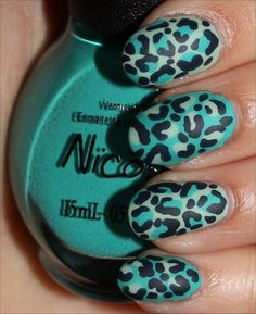 Leopard Nail Art! (Click through to see more swatches!)