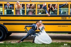 school bus farm Lyons Farmette Wedding Planner