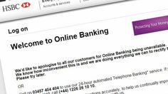 HSBC says online banking services âpartially. Current News Stories, Banking Services, Cyber Attack, Do Everything, Bbc News, Personal Finance, Hack Attack, Sayings