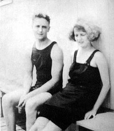 Literary Greats In Their Bathing Suits: F. Scott and Zelda Fitzgerald